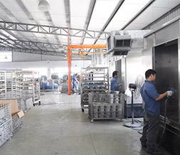 松立电机厂房设备